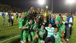 Sorriso campeão da Segunda Divisão de Mato Grosso (Foto: Divulgação/FMF)