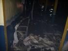 Suspeito é preso em Criciúma e escola é incendiada em Navegantes