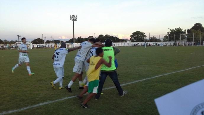 Gurupi vence o Interporto e comemora liderança no fim da 1ª fase do estadual (Foto: Gil Correia/ Divulgação)