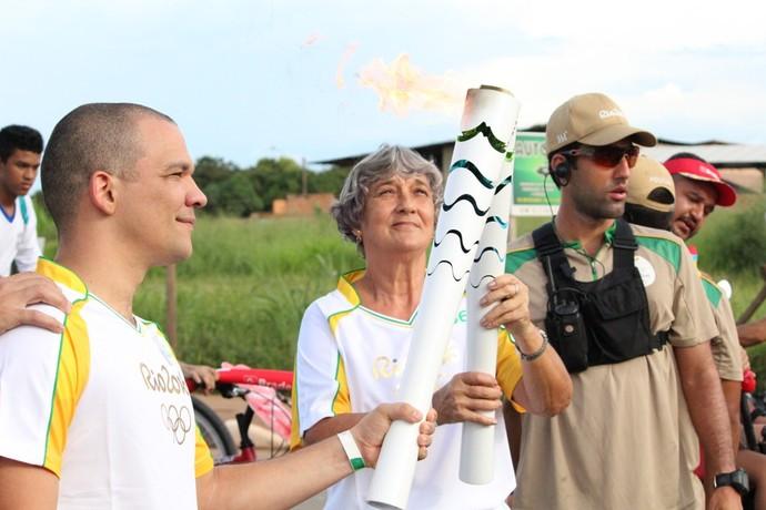Dona Neuza, Tocha Roraima (Foto: Nailson Wapichana)