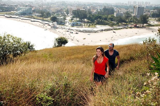 Adriana e Rodrigão posam para o EGO (Foto: Marcos Serra Lima/EGO)