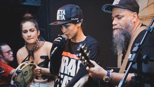 Nanda Costa fala de seu lado cantora: 'Morria de vergonha de soltar a voz na frente das pessoas'