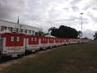 Governo de Roraima entrega 25 ambulâncias doadas pelo MS