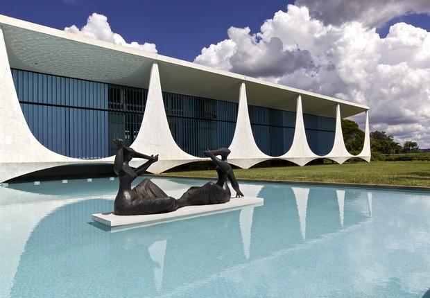 Palácio da Alvorada em Brasília (Foto: Wikimedia Commons/Wikipedia)