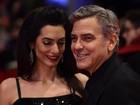 George Clooney e Amal Alamuddin vão à abertura do Festival de Berlim