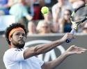 Thiago Monteiro vence um set, mas cai para Tsonga no Aberto da Austrália