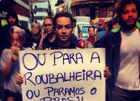 Você ainda acha que não existe manipulação? Artistas da REDE GLOBO se aliam aos protestos pelo Brasil
