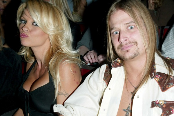 Pamela Anderson e Kid Rock (Foto: Getty Images)