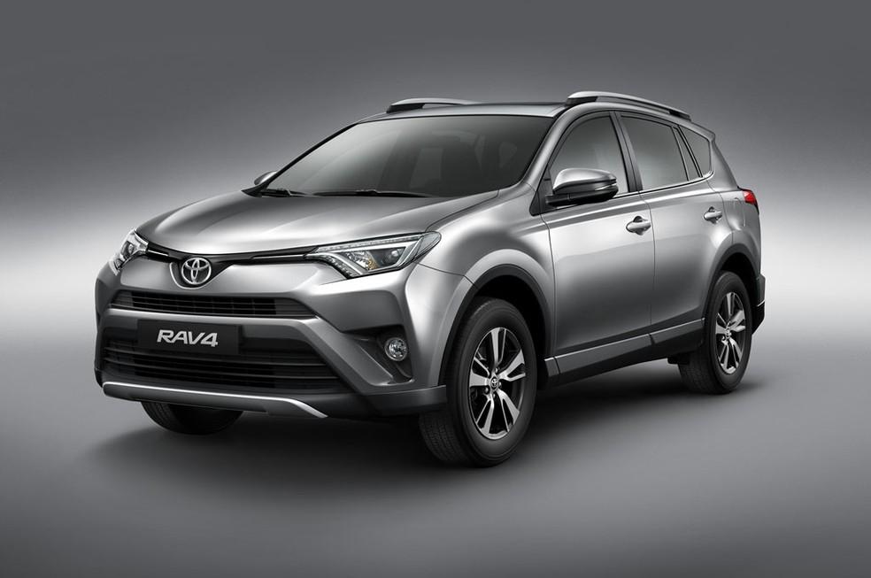 Toyota RAV4 vendido no Brasil (Foto: Divulgação)
