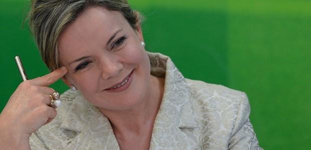 Gleisi Hoffmann, senadora pelo PT, ex-ministra do Planejamento (Foto: Fabio Rodrigues Pozzebom / Agência Brasil)