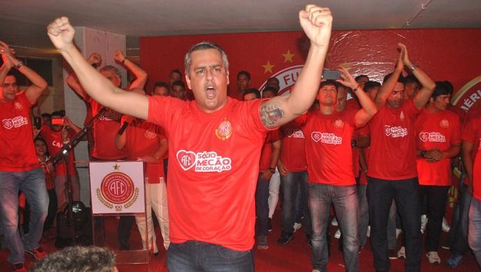 Presidente Beto Santos América-RN (Foto: Jailson Santos/Divulgação)