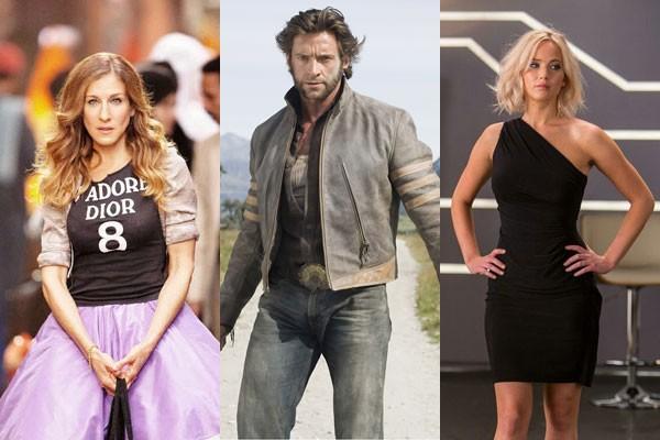 Sarah Jessica Parker, Hugh Jackman e Jennifer Lawrence já concordaram com as críticas sobre os seus respectivos filmes (Foto: Divulgação)