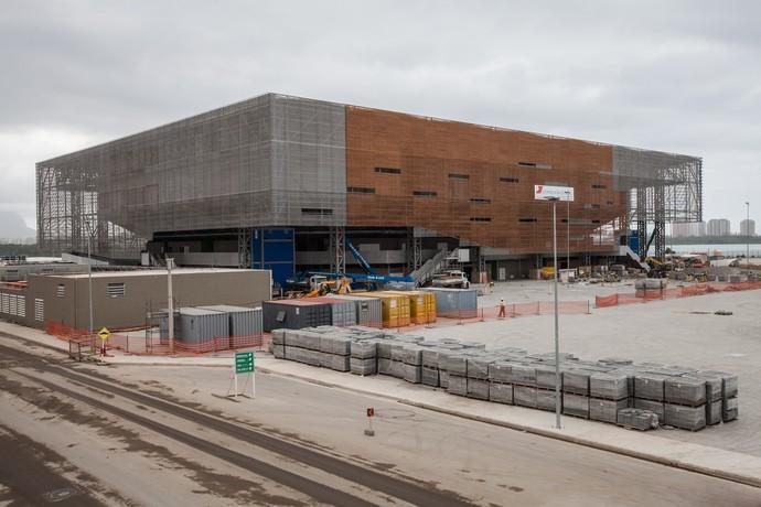 Arena do Futuro agosto de 2015 (Foto: André Motta/Heusi Action/brasil2016.gov.br)