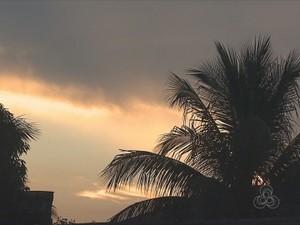 Tempo segue instável no Acre, nesta sexta-feira (27) (Foto: Reprodução/TV Acre)