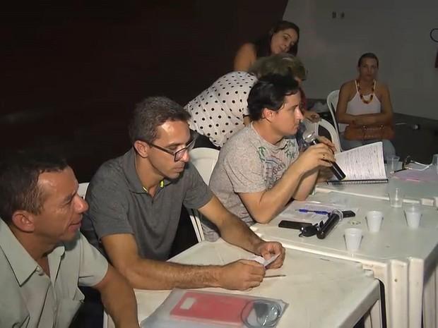 Decisão foi tomada durante assembleia realizada nesta quarta-feira (24) (Foto: Reprodução/TV Paraíba)