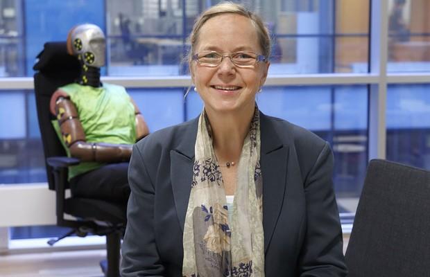 Astrid Linder, diretora do Instituto Nacional de Pesquisa em Trânsito da Suécia (Foto: Divulgação)