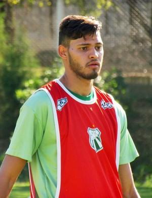 Michel Helói já treinou com os jogadores da Caldense (Foto: Divulgação Caldense)