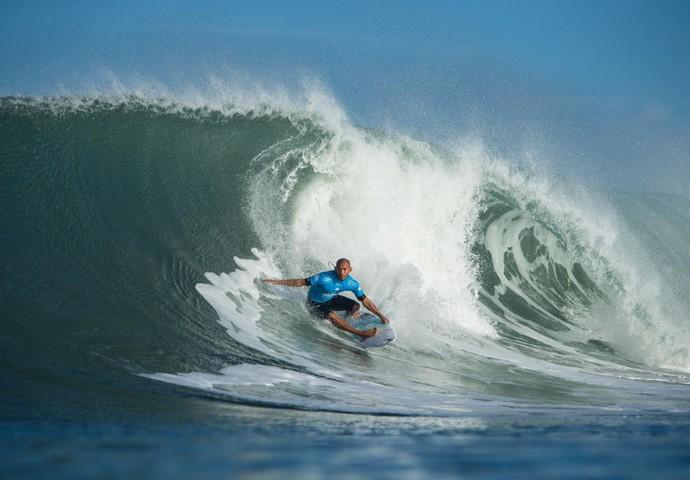 Jadson André Hossegor primeira fase surfe (Foto: Divulgação/WSL)