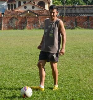Daniego, atacante Vasco-AC (Foto: Duaine Rodrigues)