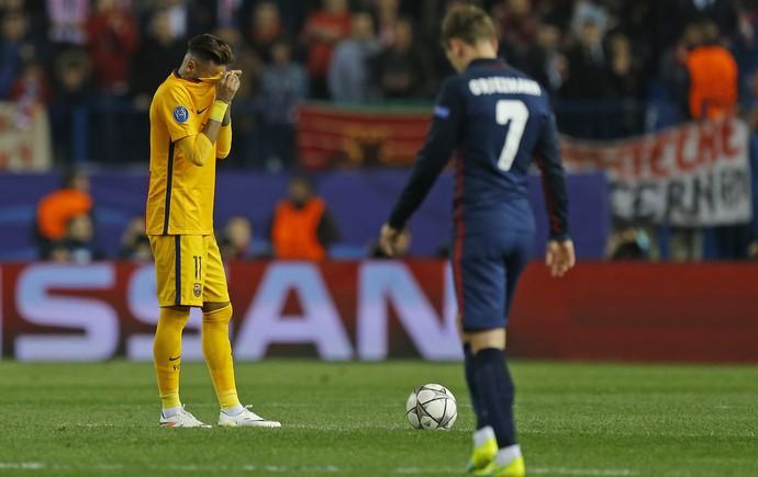 Neymar Atlético de Madrid x Barcelona (Foto: Reuters)