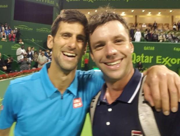 BLOG: Derrotado por Djokovic, argentino nº 71 do mundo pede selfie ainda em quadra