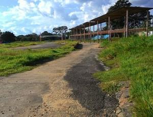 Antigo kartódromo de Ji-Paraná (Foto: Marco Bernardi)