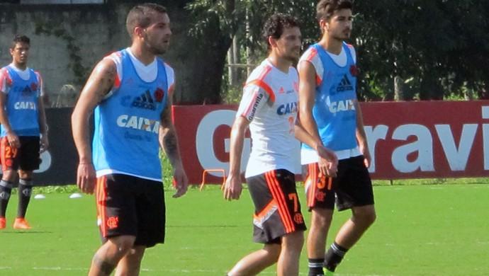 Flamengo treino  (Foto: Hector Werlang)