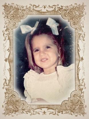 foto criança MARI PARAIBA moldura (Foto: arte esporte)