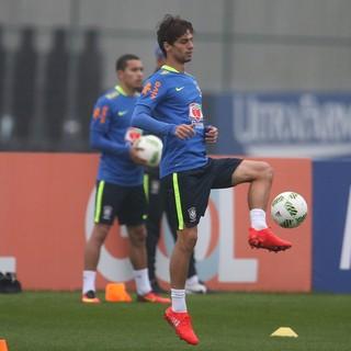 Rodrigo Caio Treino Seleção Brasileira Olímpica (Foto: Lucas Figueiredo / MoWA Press)