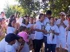 Grupo faz ato  por segurança no Guará