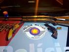 Estudante é apreendido com armas dentro de mochila em Piracicaba, SP