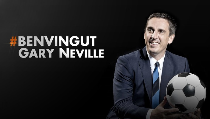 Gary Neville Valencia (Foto: Reprodução/Site oficial do Valencia)