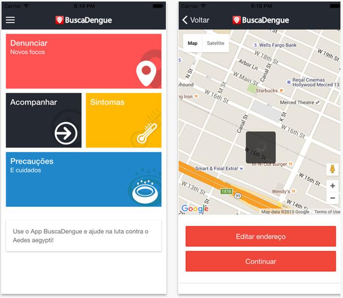 Busca Dengue é exclusivos para usuários do iOS (Foto: Divulgação/App Store)