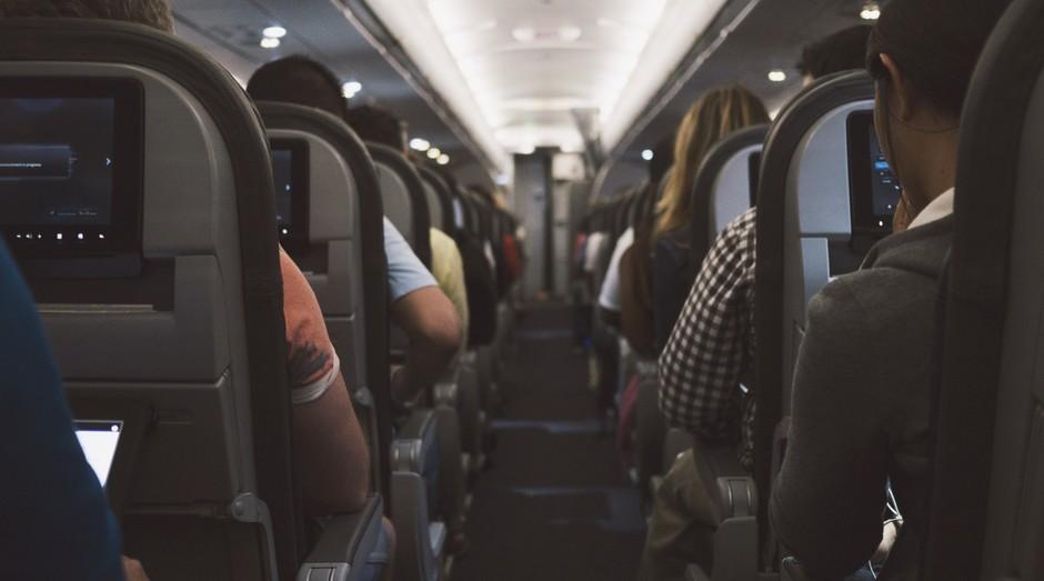 Avião, companhia aérea, serviço de bordo (Foto: Reprodução/Pexels)