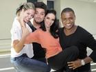 Fotos: Veja tudo o que está rolando nos bastidores da finalíssima do 'Dança'!