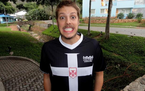 Fábio porchat vasco meu jogo inesquecível (Foto: Thiago Quintella / Globoesporte.com)
