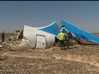 Não há provas de que avião russo se partiu no ar, diz ministério egípcio