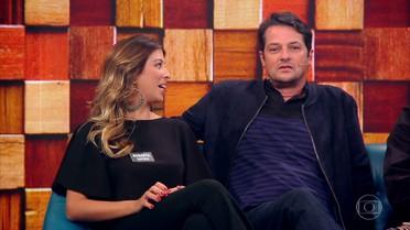 Marcelo Serrado conta que confunde os filhos gêmeos