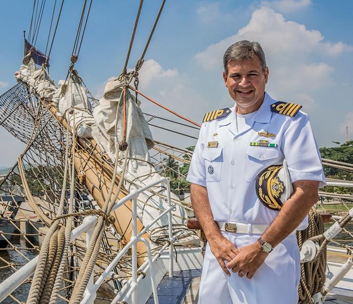 O comandante João Alberto Araujo Lampert (Foto: Fábio Rocha/Gshow)