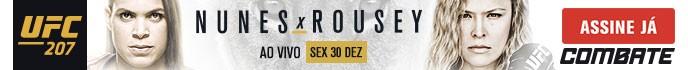 banner header UFC 207 Combate (Foto: Combate)