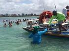 IMA fiscaliza piscinas naturais do Amor e da Pajuçara, em Maceió