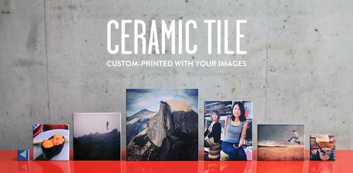 Transforme suas fotos do Instagram em azulejos ou ímãs de geladeira (Foto: Divulgação/ImageSnap)
