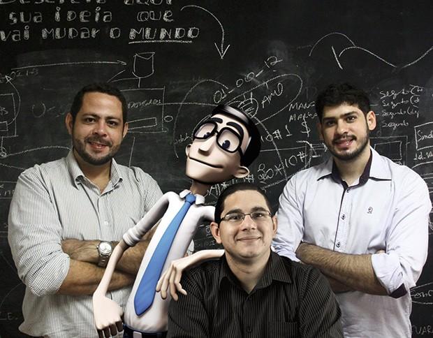 Ideias;Tecnologia;Educação;Wanderlan, Hugo, Luz e Tenório (Foto: Divulgação/Nalata)
