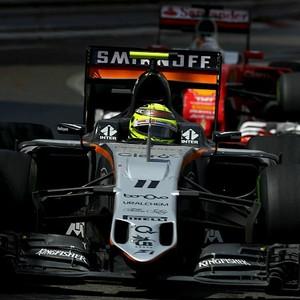 Sergio Pérez no GP de Mônaco (Foto: Getty Images)