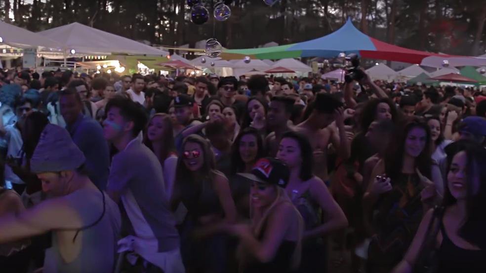 Picnik reúne DJs e monta pista de dança no Parque da Cidade, em Brasília (Foto: Reprodução)