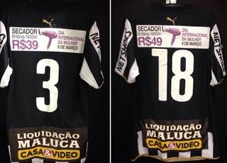 Montagem camisa Botafogo (Foto: Reprodução / Twitter)