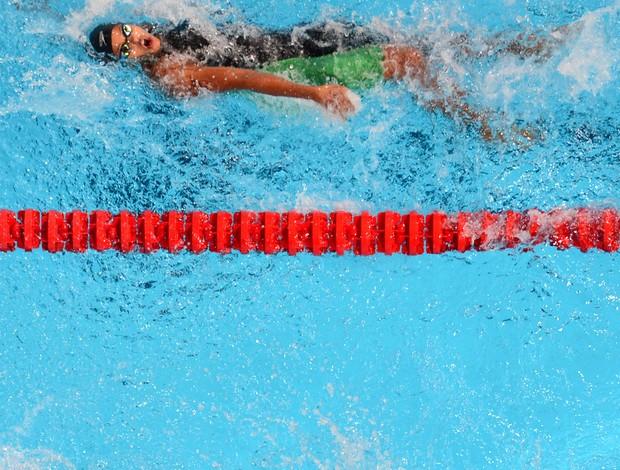 Etiene Medeiros natação barcelona (Foto: AFP)