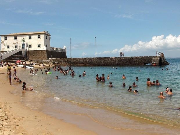 Porto da Barra, Salvador, Bahia (Foto: Lílian Marques/ G1)