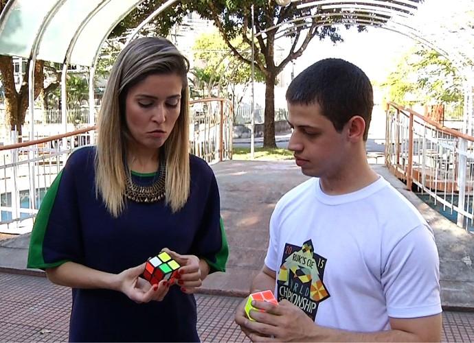Diana Sabadini Cubo Mágico (Foto: Plugue)