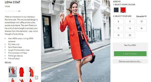 Trench coat da Kate Middleton (Foto: Reproduçãoe)